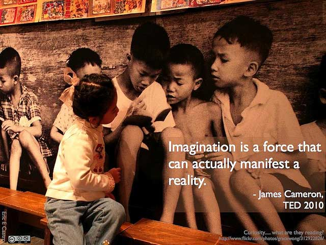 Imagination and Reality by James Cameron