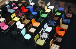 Colorful Chairs: Self Education Quotes