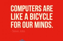 Bicycle For The Mind (Steve Jobs Quote)