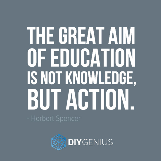 The Great Aim Of Education (Hebert Spencer)