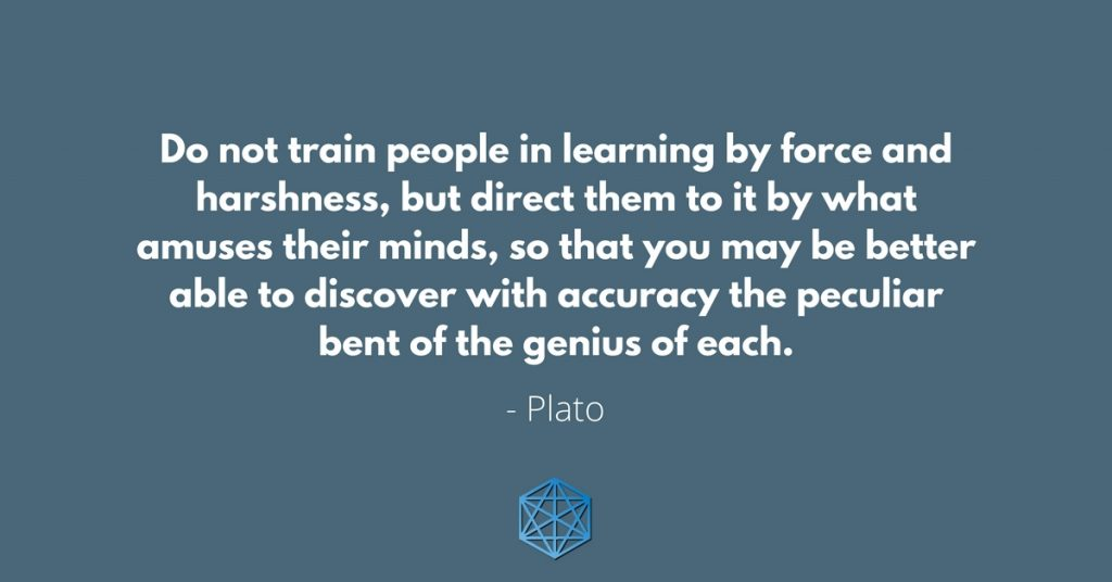 Plato Quote on Learning and Genius