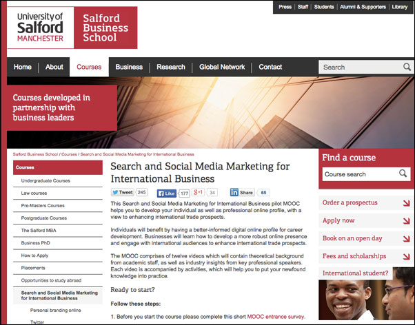 Search and Social Media Marketing