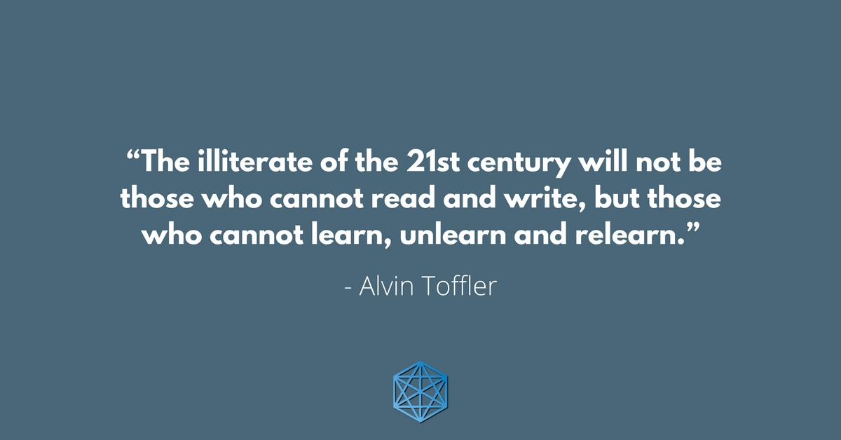 Unlearing Quote by Alvin Toffler