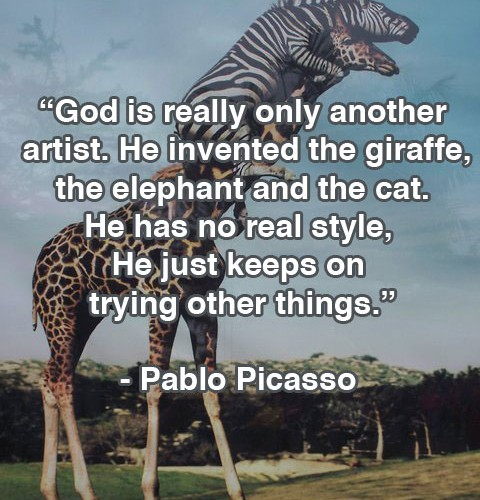 Picasso God The Inventor Quote