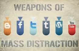 Social Media Weapons of Mass Distraction