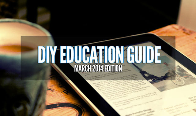 DIY Education Guide (March Edition)