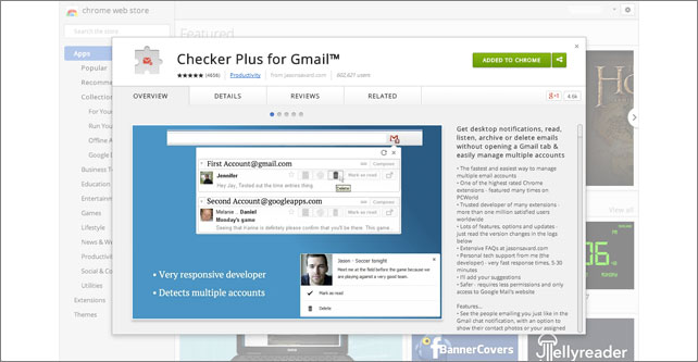 Checker Plus Gmail Plugin