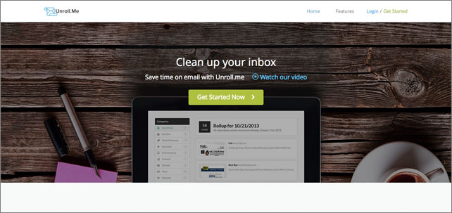 UnRoll Email List Unsubscribe Tool