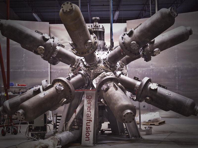 Fusion reactor technology being developed in Vancouver by General Fusion.