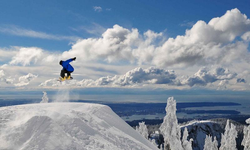 Mount Seymour Vancouver Snowboarding