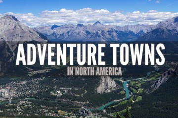 Best Adventure Towns In North America