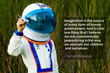 Imagination Quote by Sir Ken Robinson