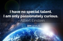 I Have No Special Talent - Einstein