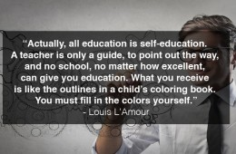 All Education Is Self-Education