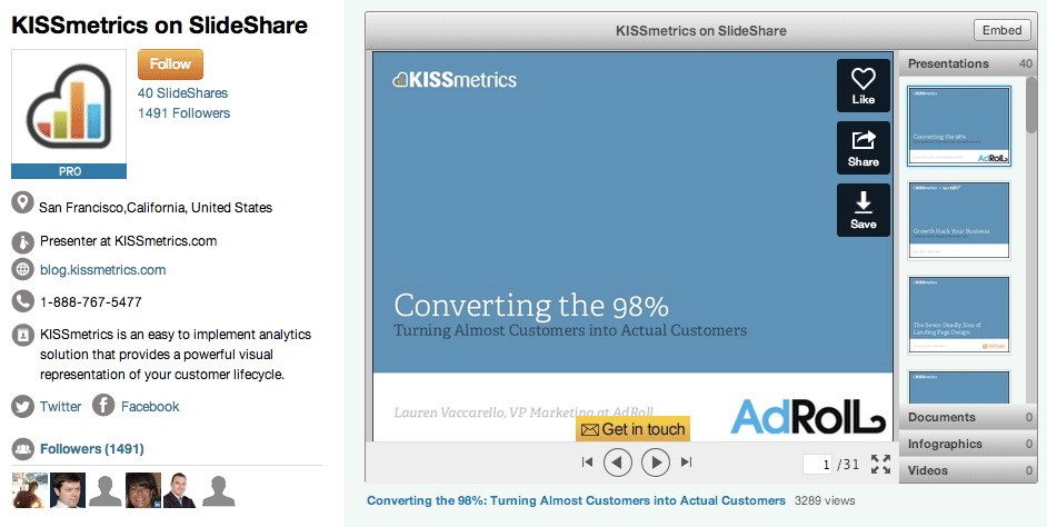 kissmetrics-slideshare