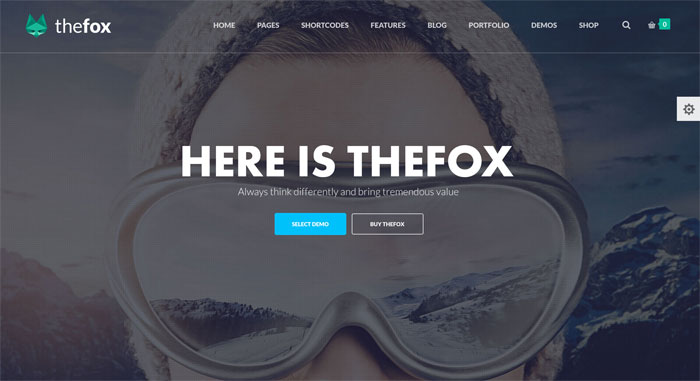 The Fox WordPress Theme