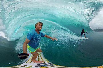 Go Pro VR Surfing