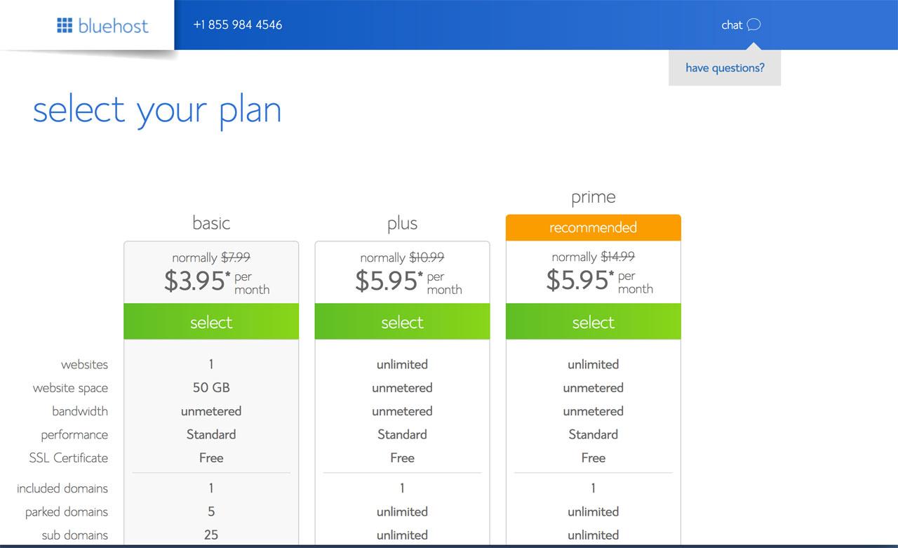 Choose Your WordPress Plan