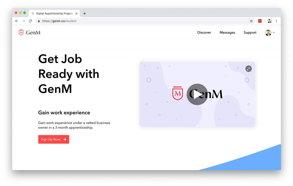 GenM Digital Apprenticeship