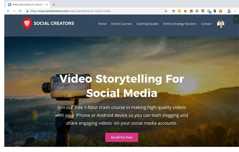 Video Storytelling For Social Media