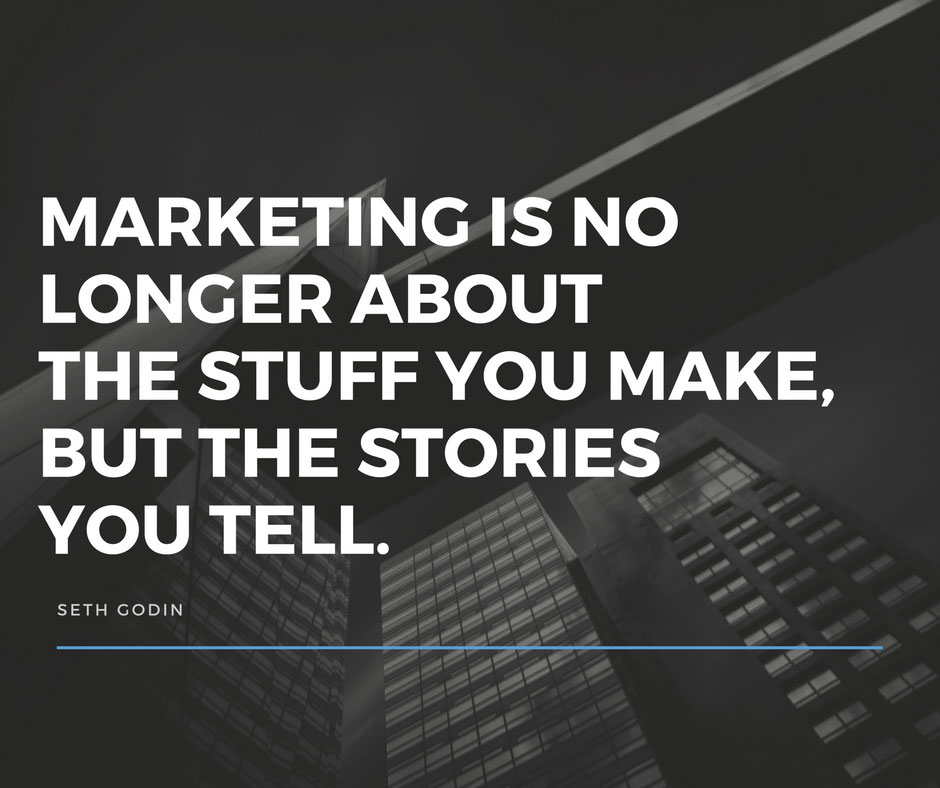The Best Marketing Is Storytelling - Seth Godin