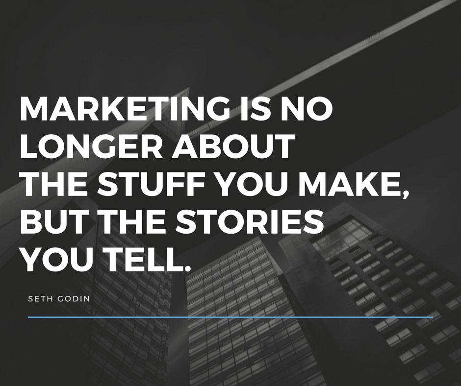 The Best Marketing Is Storytelling - Seth Godin