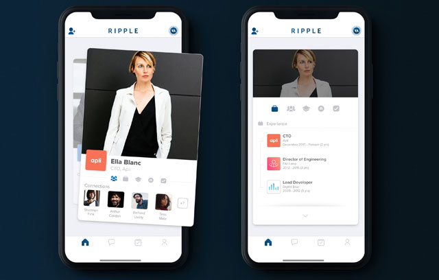 Ripple Networking App