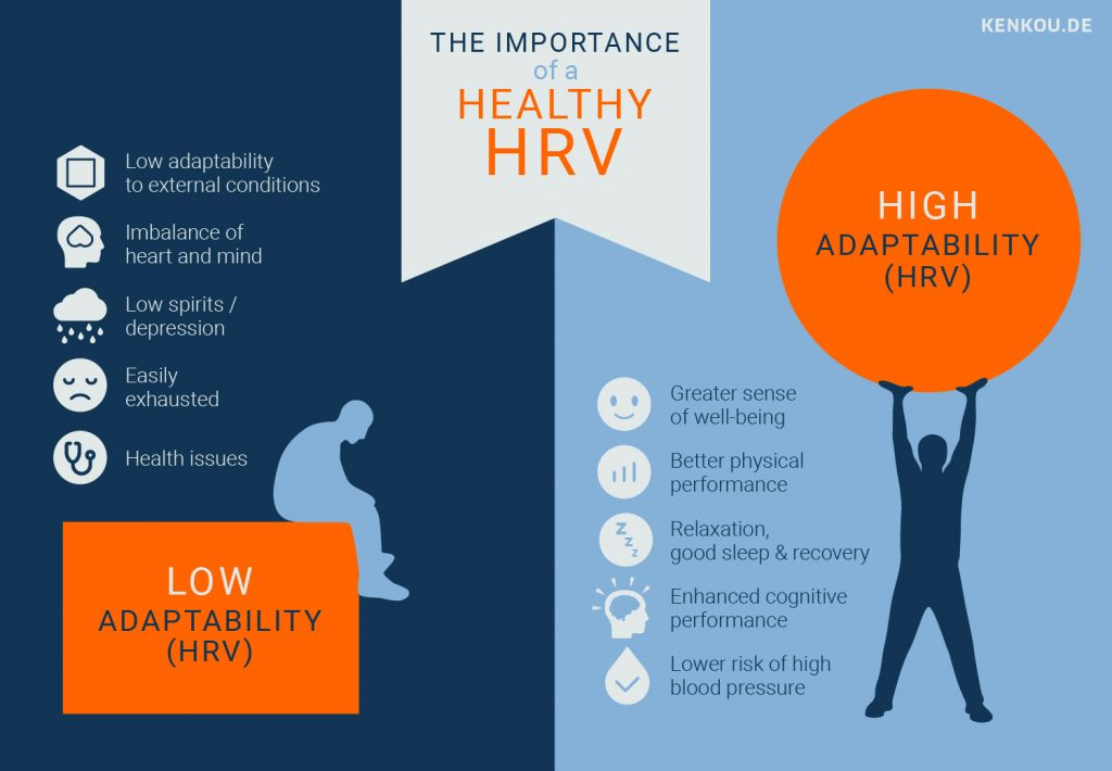 Heart Rate Variability HRV Infographic