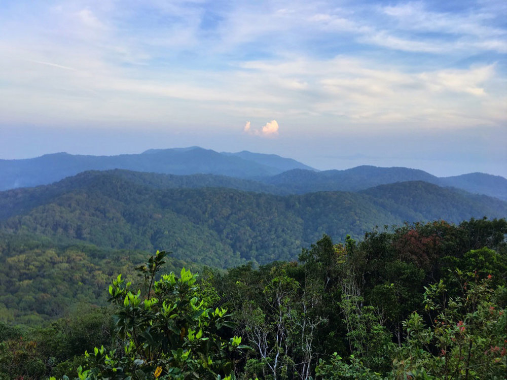 Khao Ra View in Than Sadet National Park
