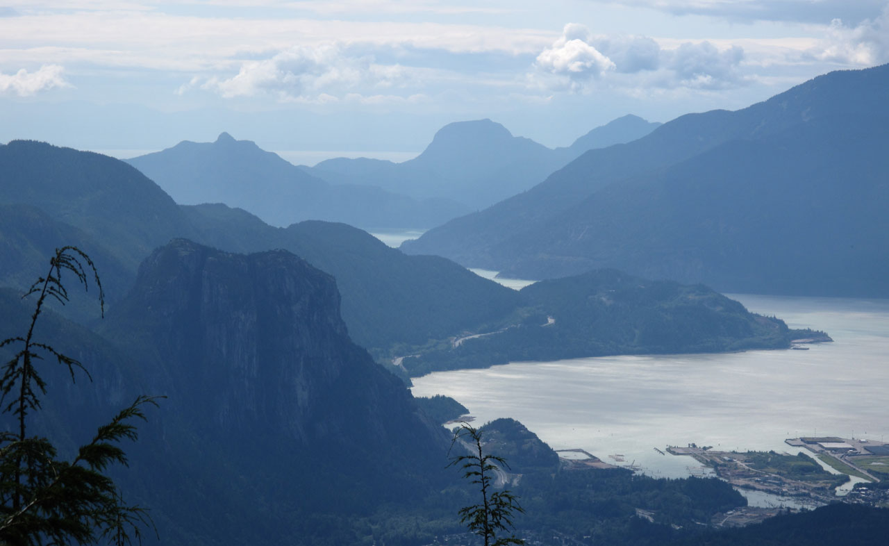 The Chief in Squamish and Howe Sound Gambier Island