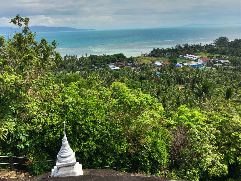 Wat Koh Tahm Forest Monastery View