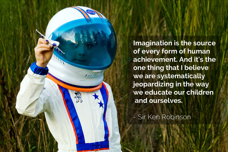 Imagination In Education Sir Ken Robinson Quote