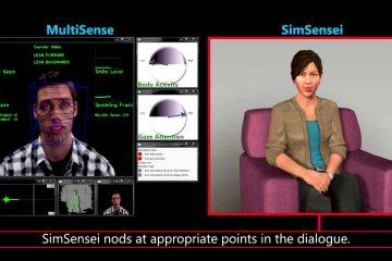 Ellie SimSensei Technology