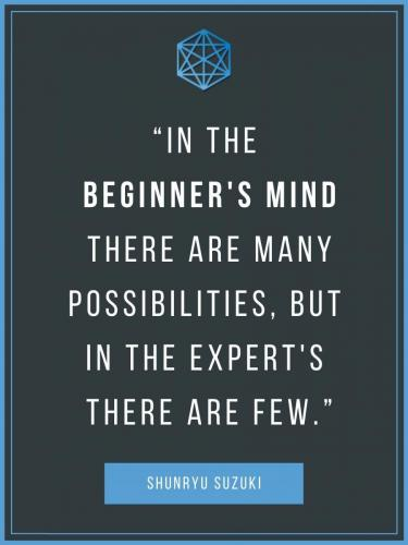 Shunryu Suzuki Beginner's Mind Quote Post