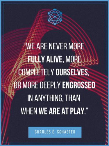 Charles Schaefer Play Quote Poster