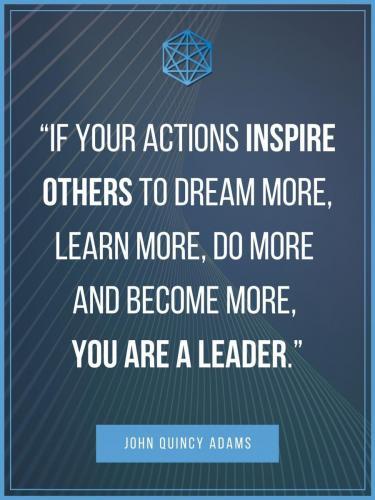 John Quincy Adams Leadership Quote Post