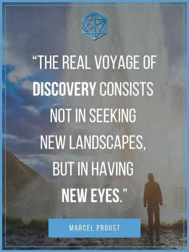 Marcel Proust New Eyes Quote