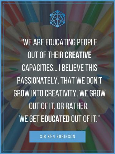 Sir Ken Robinson Creativity And Education Quote